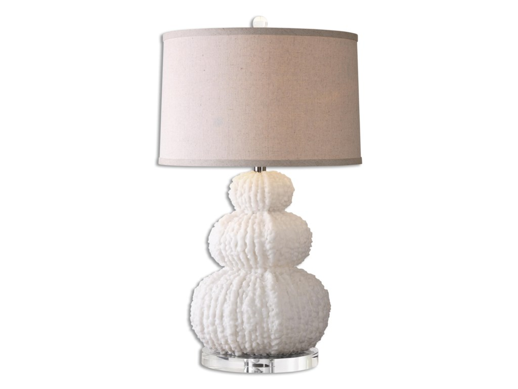 Uttermost Table LampsFontanne Shell Ivory Table Lamp