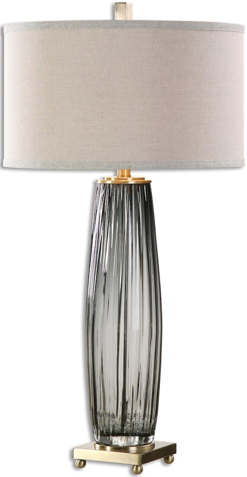 Uttermost Lamps Vilminore Gray Gl Table Lamp