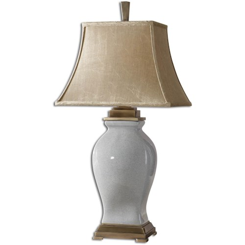 Uttermost Lamps Rory Blue Table