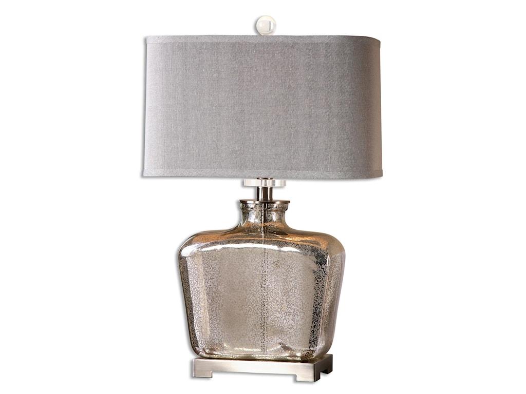 Uttermost Table LampsMolinara Mercury Glass Table Lamp