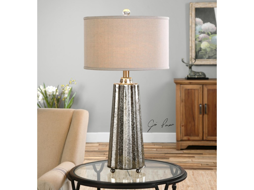 Uttermost Table LampsSullivan Mercury Glass Table Lamp