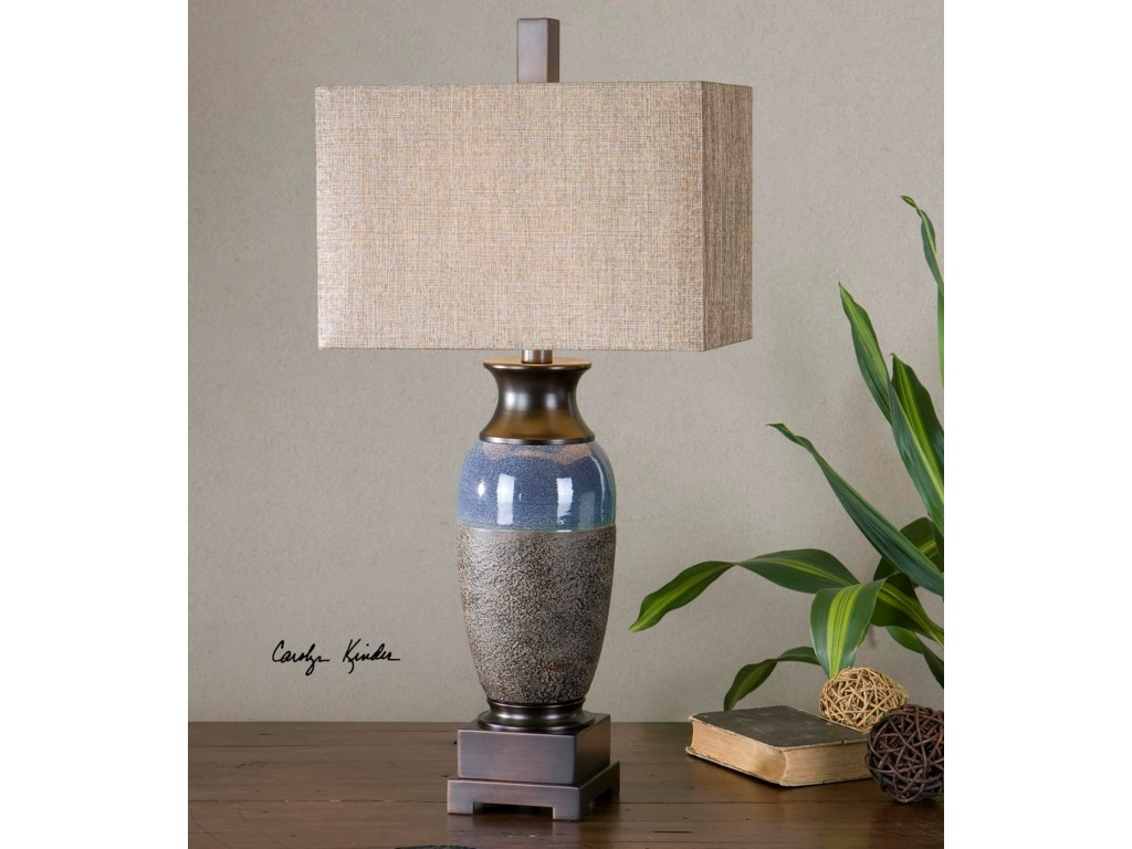 Uttermost Table LampsAntonito Textured Ceramic Table Lamp