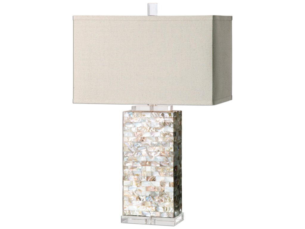 Uttermost Table LampsAden Capiz Shell Lamp