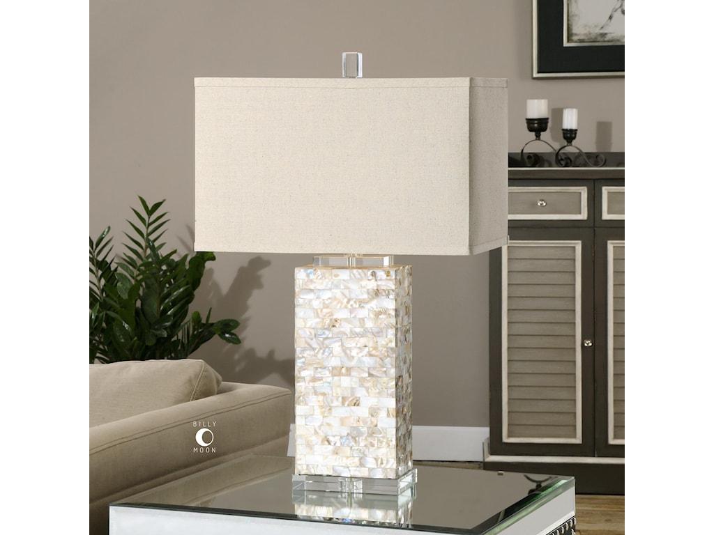 Uttermost Table LampsAden Capiz Shell Lamp