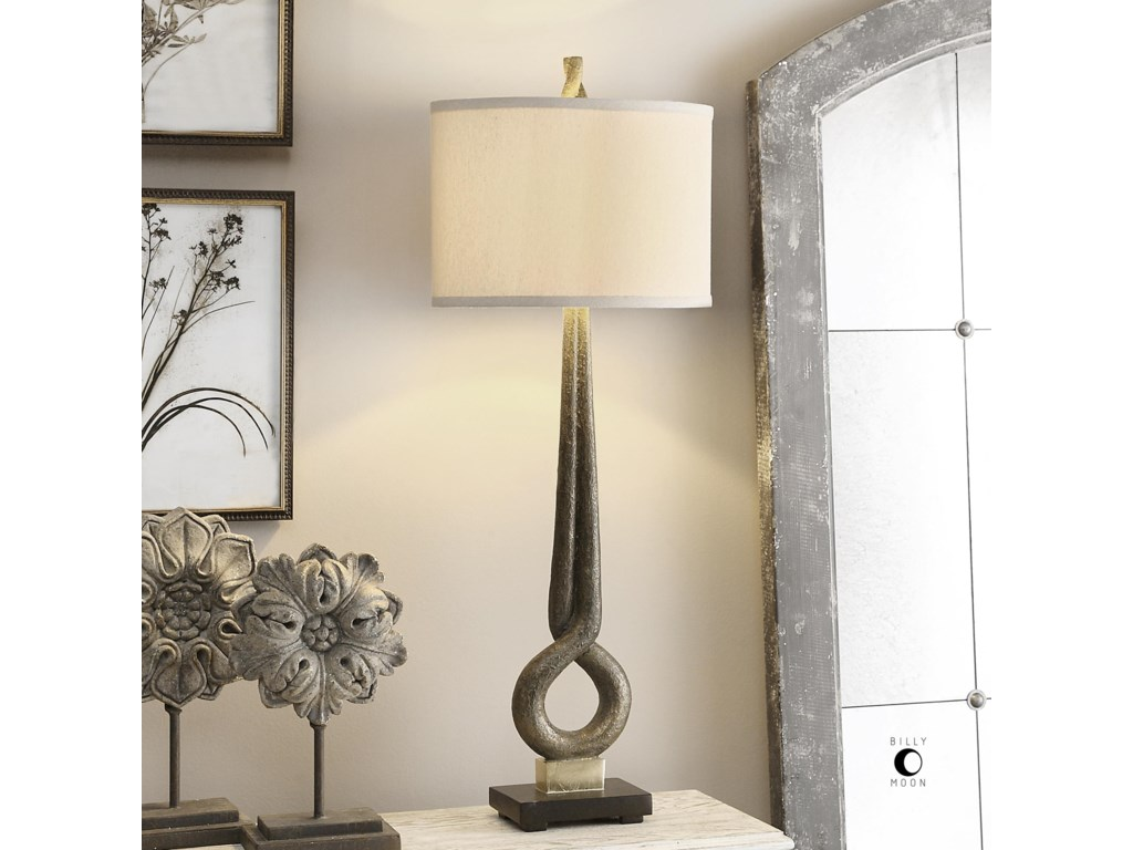 Uttermost Table LampsJandari Golden Bronze Lamp