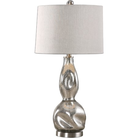 Dovera Mercury Glass Lamp