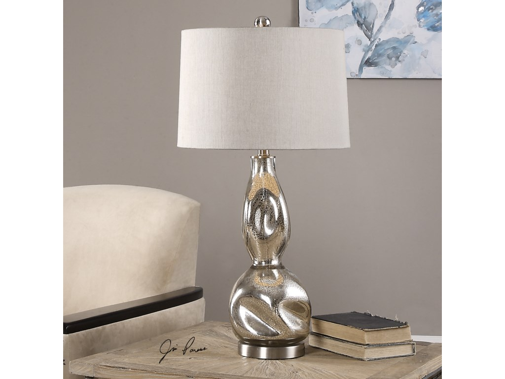 Uttermost Table LampsDovera Mercury Glass Lamp