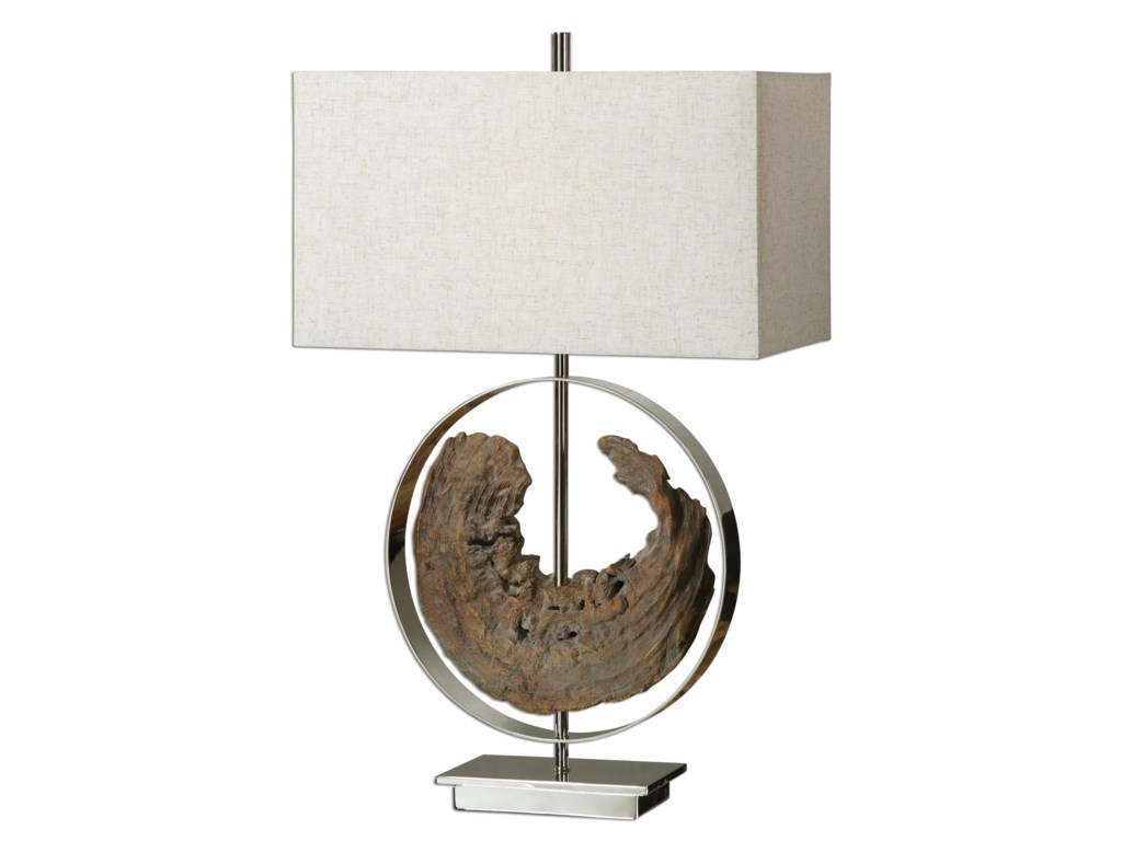 Uttermost Table LampsAmbler Driftwood Lamp