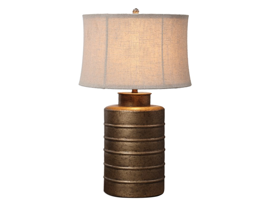 Uttermost Table LampsAntiqued Gold Bamiro Lamp