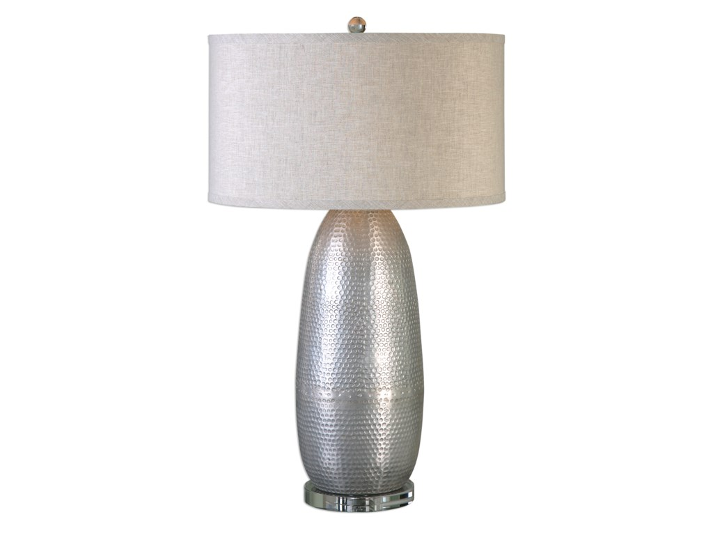 Uttermost Table LampsTartaro Industrial Silver Table Lamp