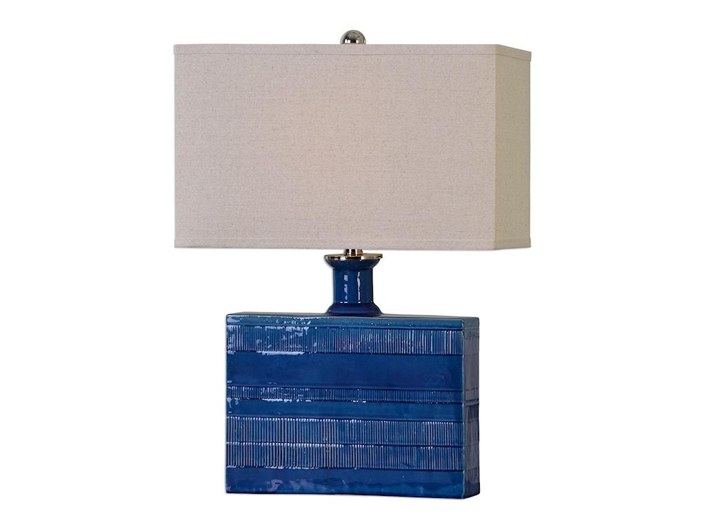 Uttermost Table LampsPiota Blue Table Lamp