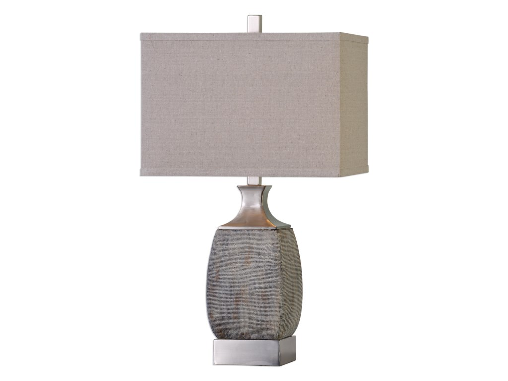Uttermost Table LampsCaffaro Rust Bronze Table Lamp