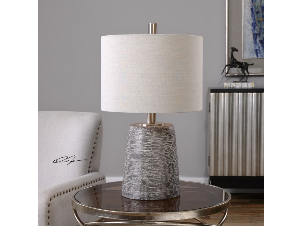 Uttermost Table LampsDuron Bronze Ceramic Lamp