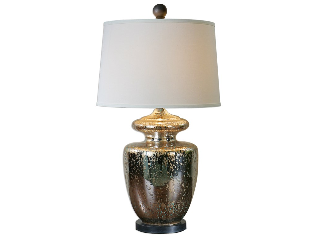 Uttermost Table LampsAilette Antiqued Mercury Glass Lamp