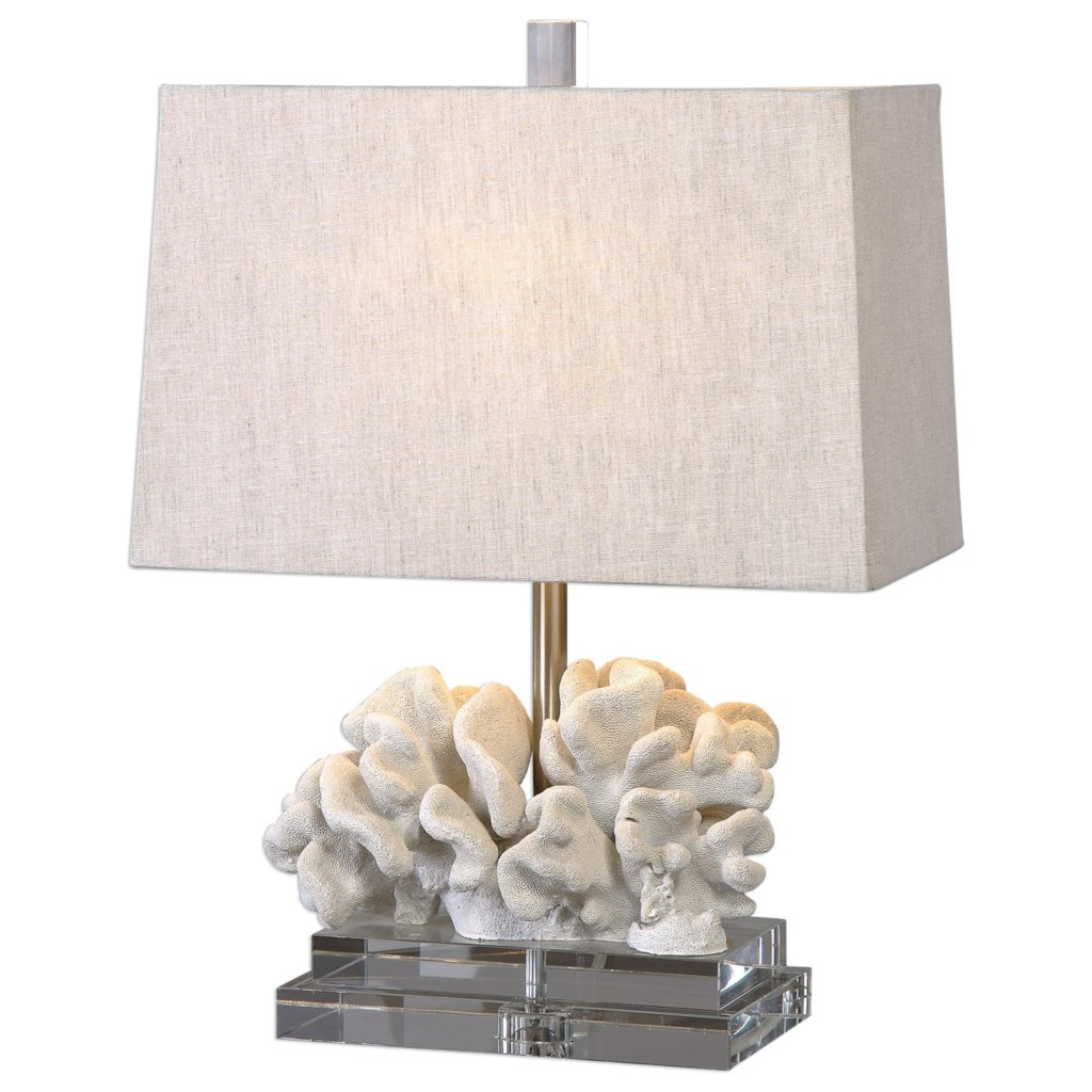Uttermost Lamps Coral Sculpture Table Lamp Howell Furniture