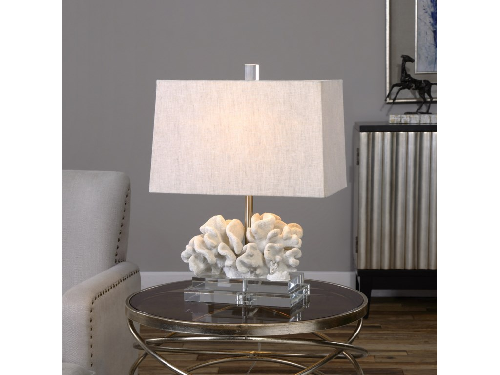 Uttermost Table LampsCoral Sculpture Table Lamp