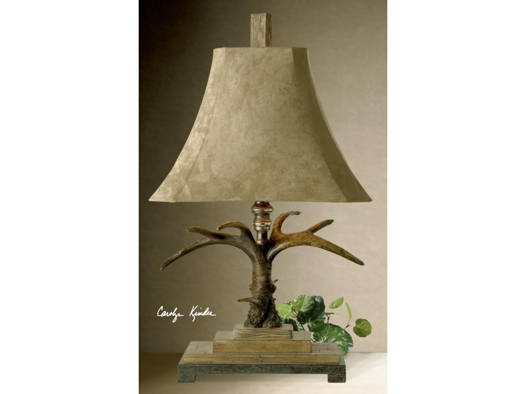 Uttermost Table LampsStag Horn Table