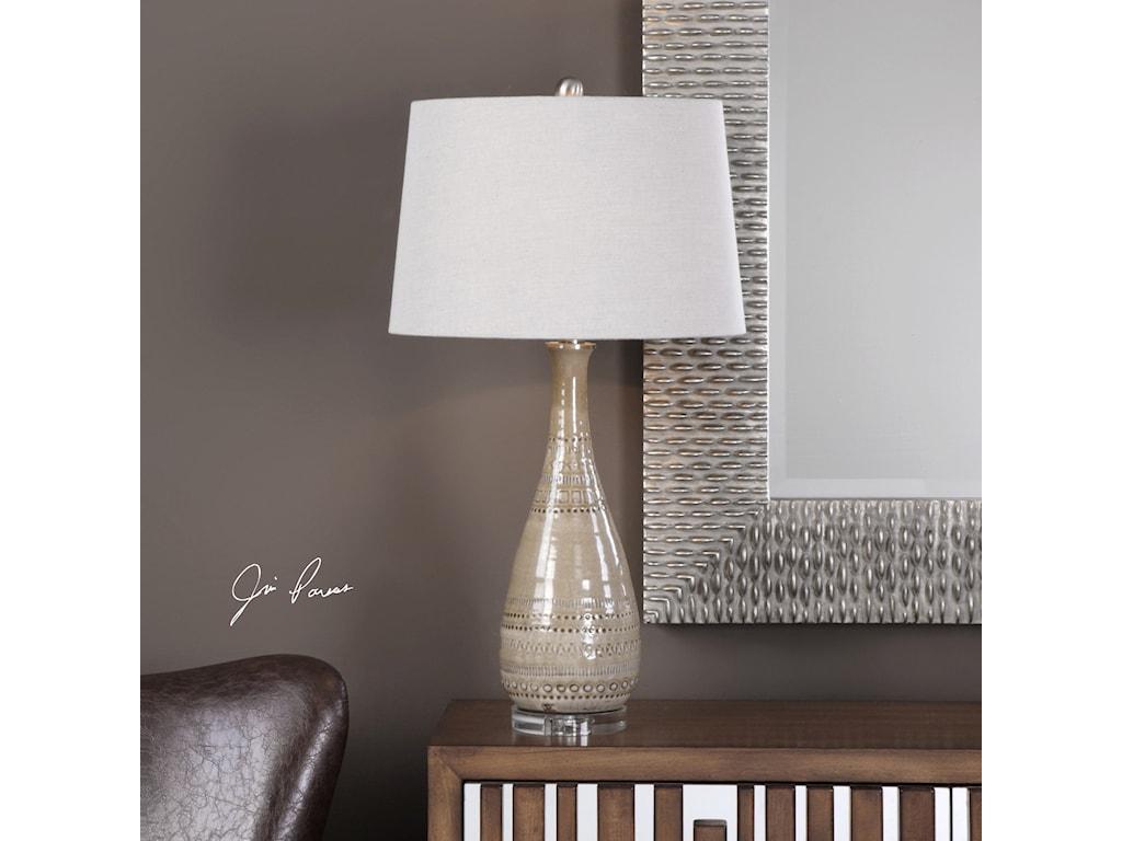 Uttermost Table LampsNakoda Table Lamp