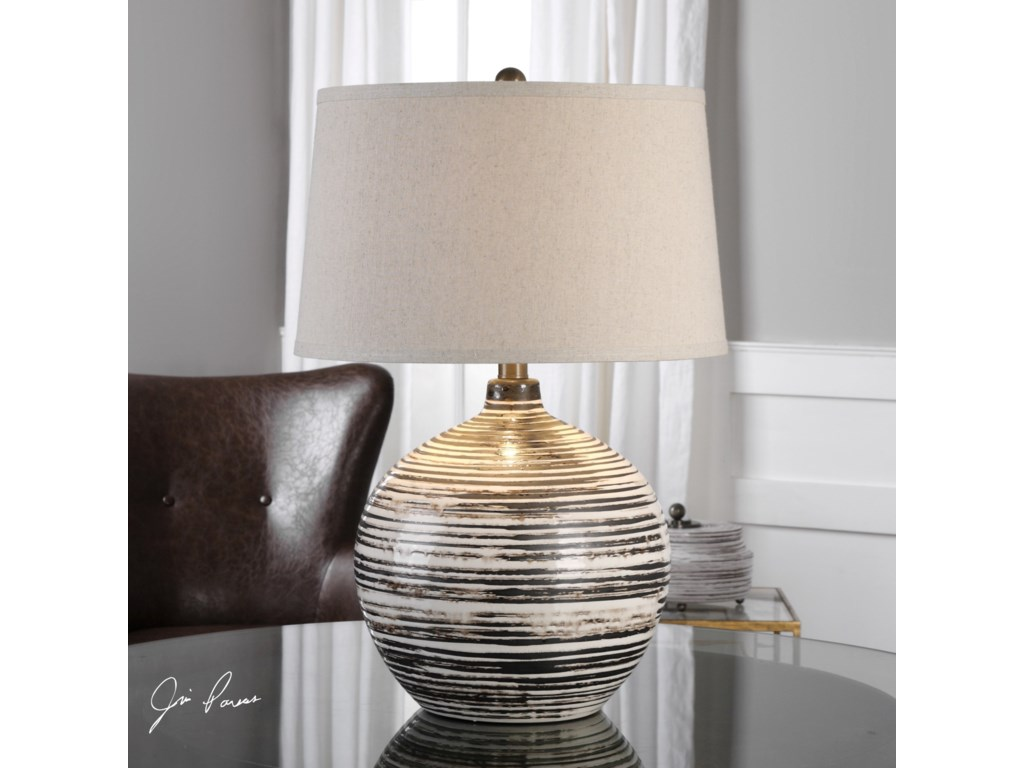 Uttermost Table LampsBloxom Table Lamp