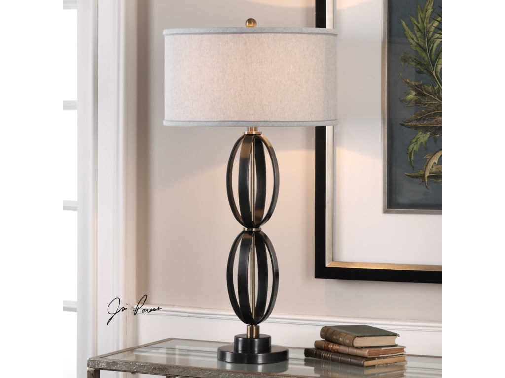 Uttermost Table LampsMoretti Oil Rubbed Bronze Table Lamp
