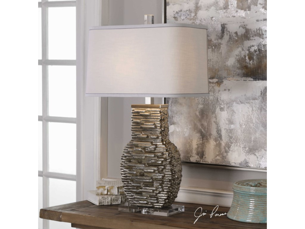 Uttermost Table LampsClavin Stack Textured Table Lamp
