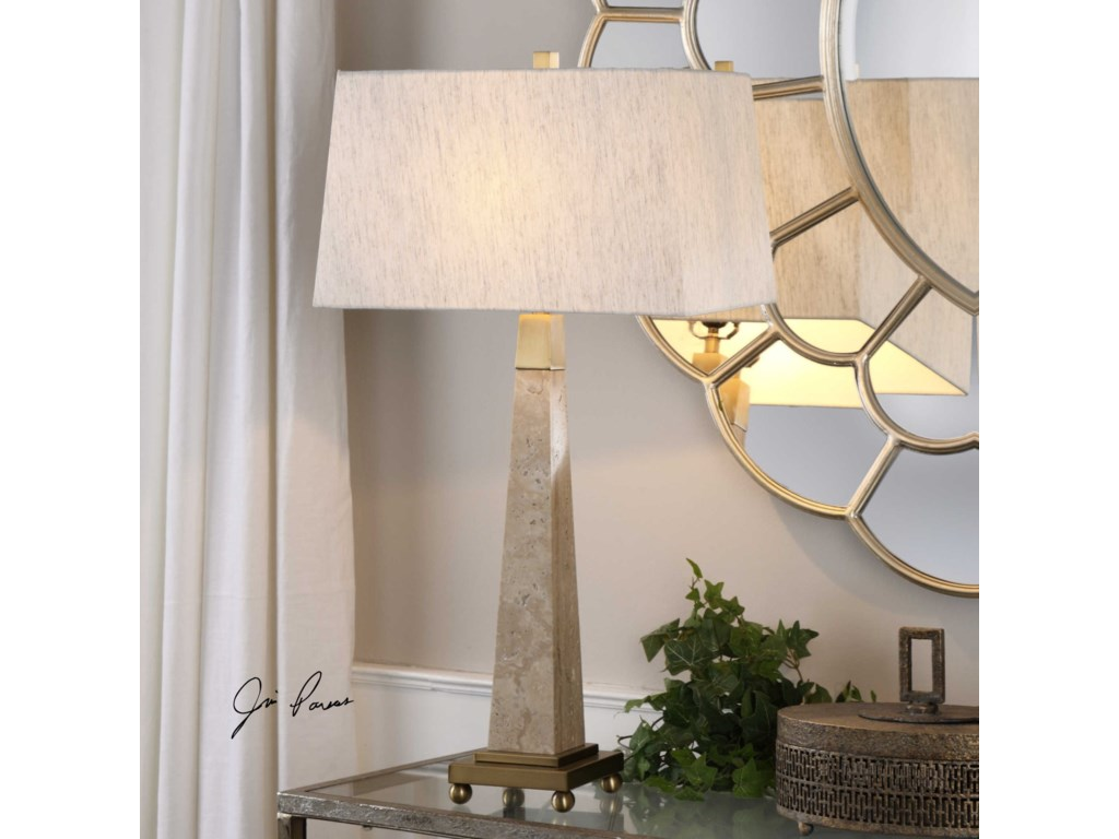 Uttermost Table LampsMontolo Marble Table Lamp