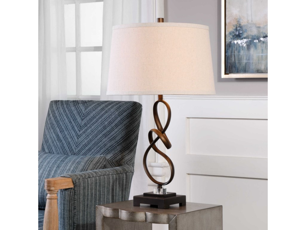 Uttermost Table LampsTenley Oil Rubbed Bronze Lamp