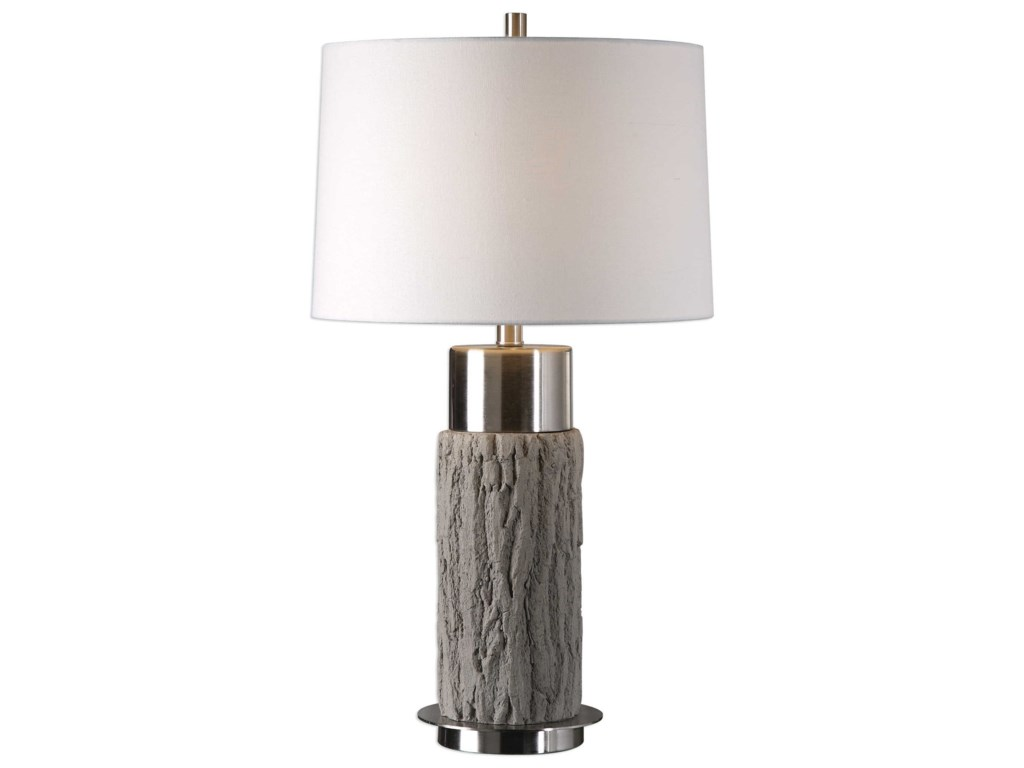 Uttermost Table LampsBartley Old Wood Table Lamp