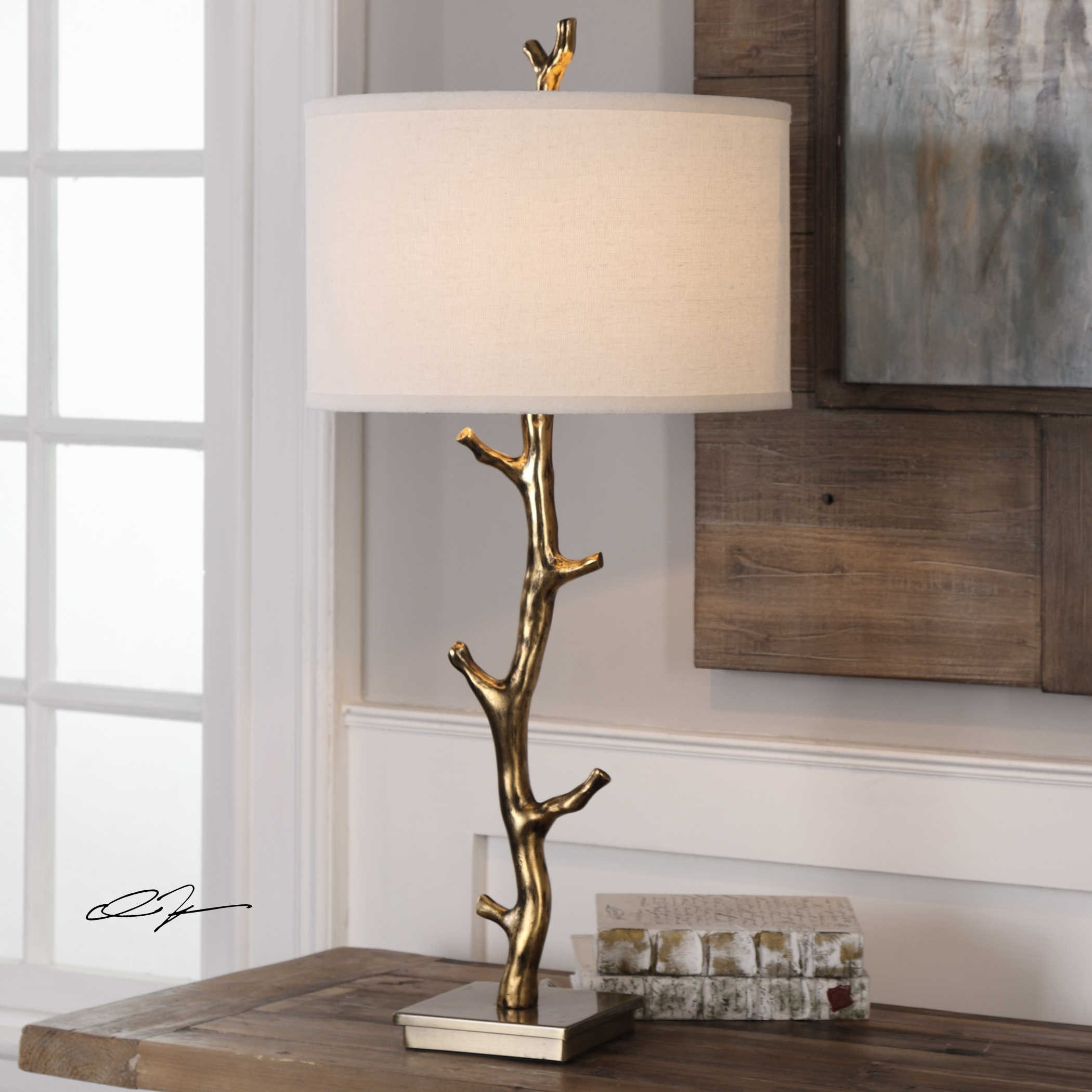 Lamps Javor Tree Branch Table Lamp - Ruby-Gordon Furniture ...