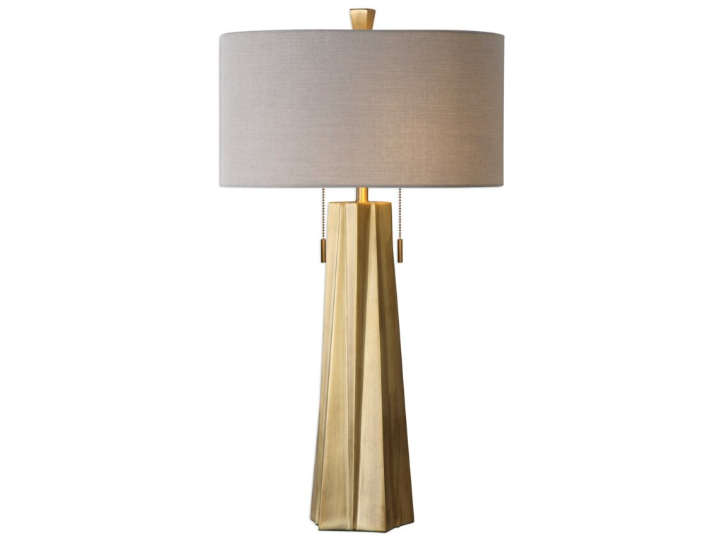 Uttermost Table LampsMaris Gold Table Lamp