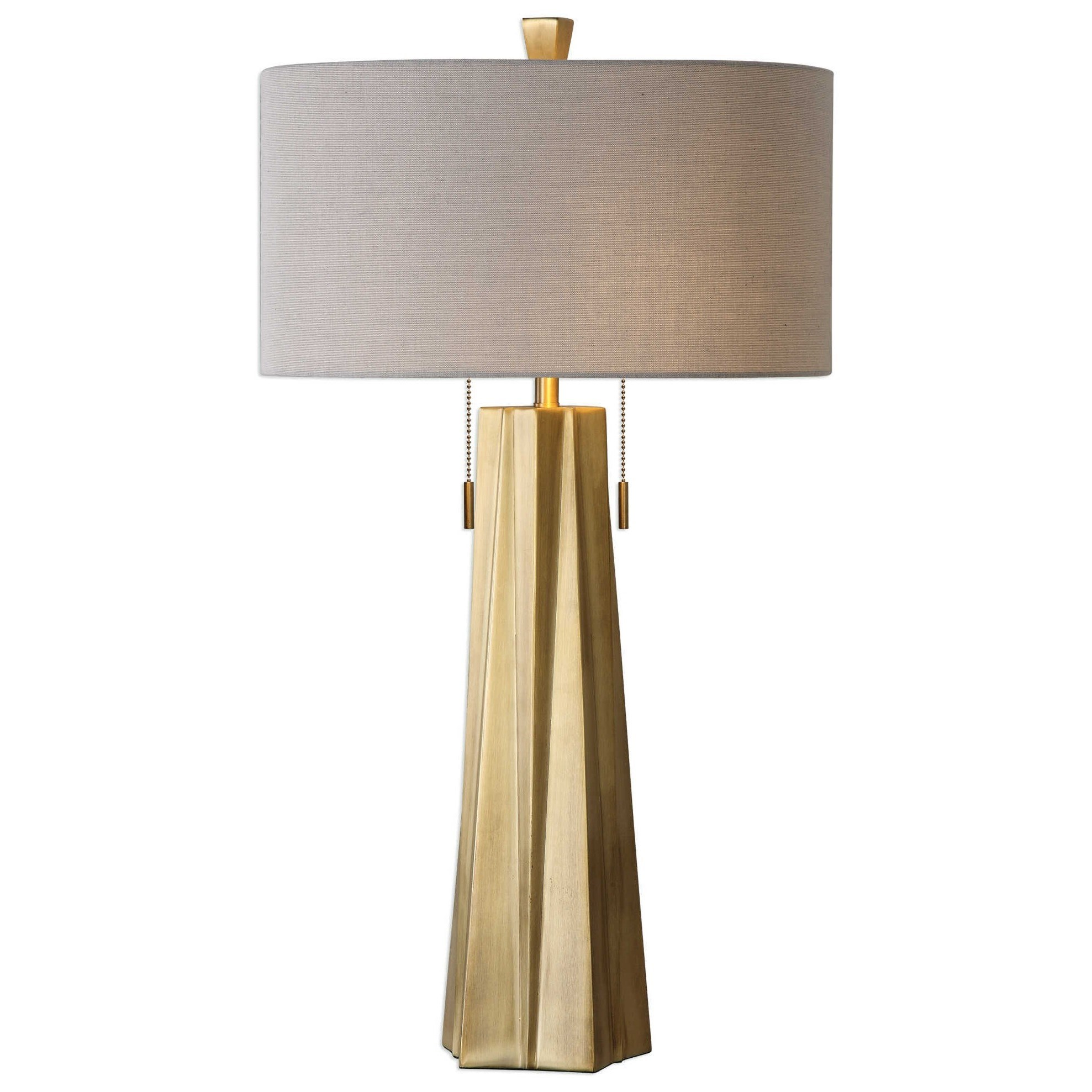 uttermost lamps maris gold table lamp del sol furniture table lamps