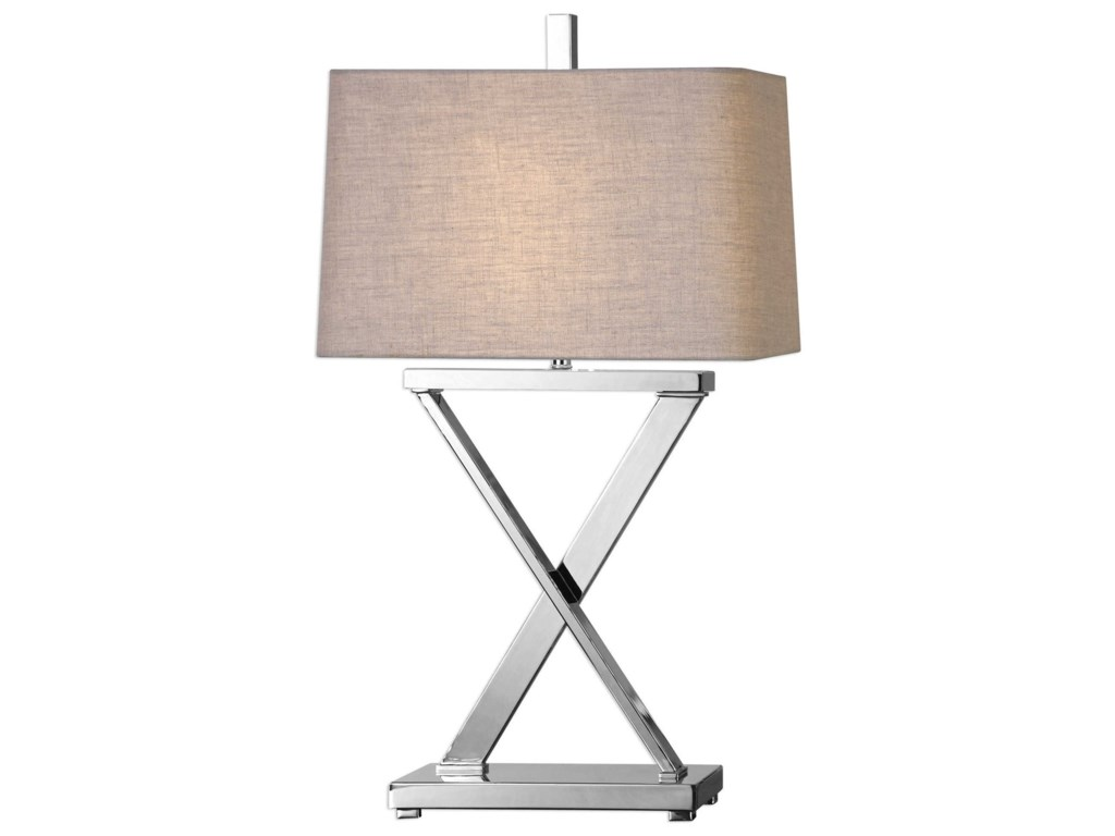 Uttermost Table LampsXavier Nickel Table Lamp