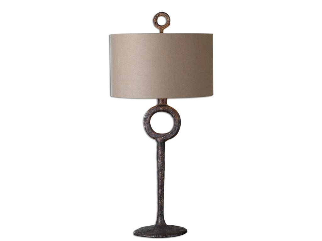 Uttermost Table Lamps 27663 Ferro Cast Iron Table Lamp Hudson S