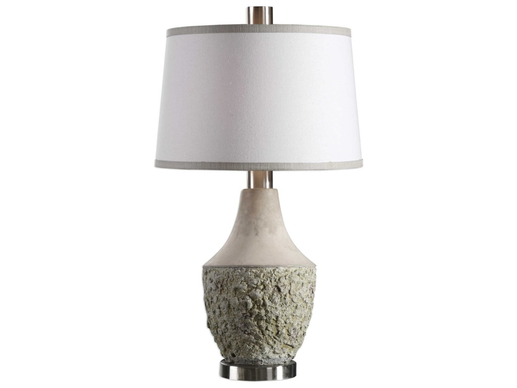 Uttermost Table LampsVeteris Concrete Design Lamp