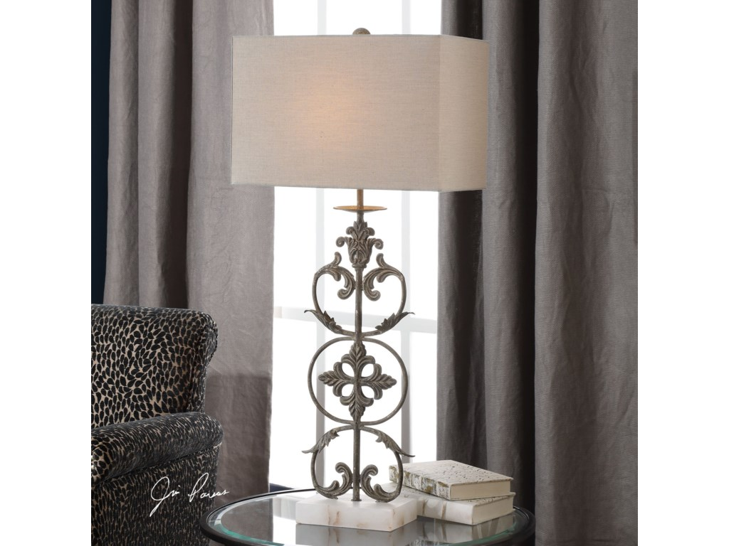 Uttermost Table LampsGerosa Aged Bronze Table Lamp