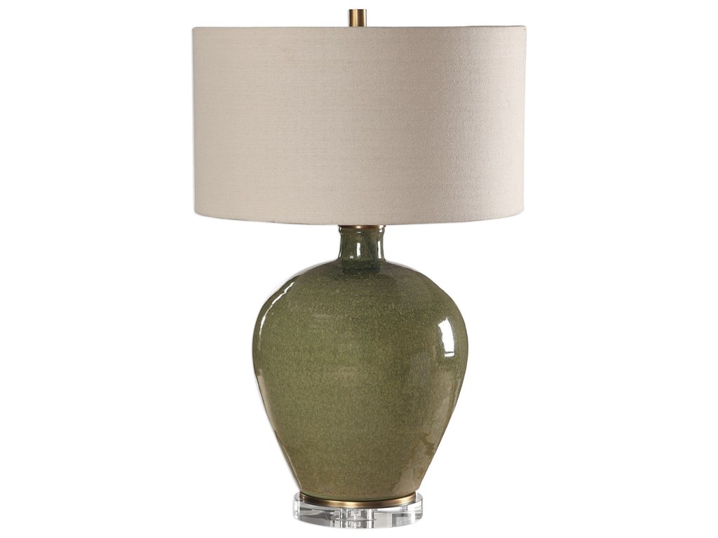 Uttermost Table LampsElva Emerald Table Lamp