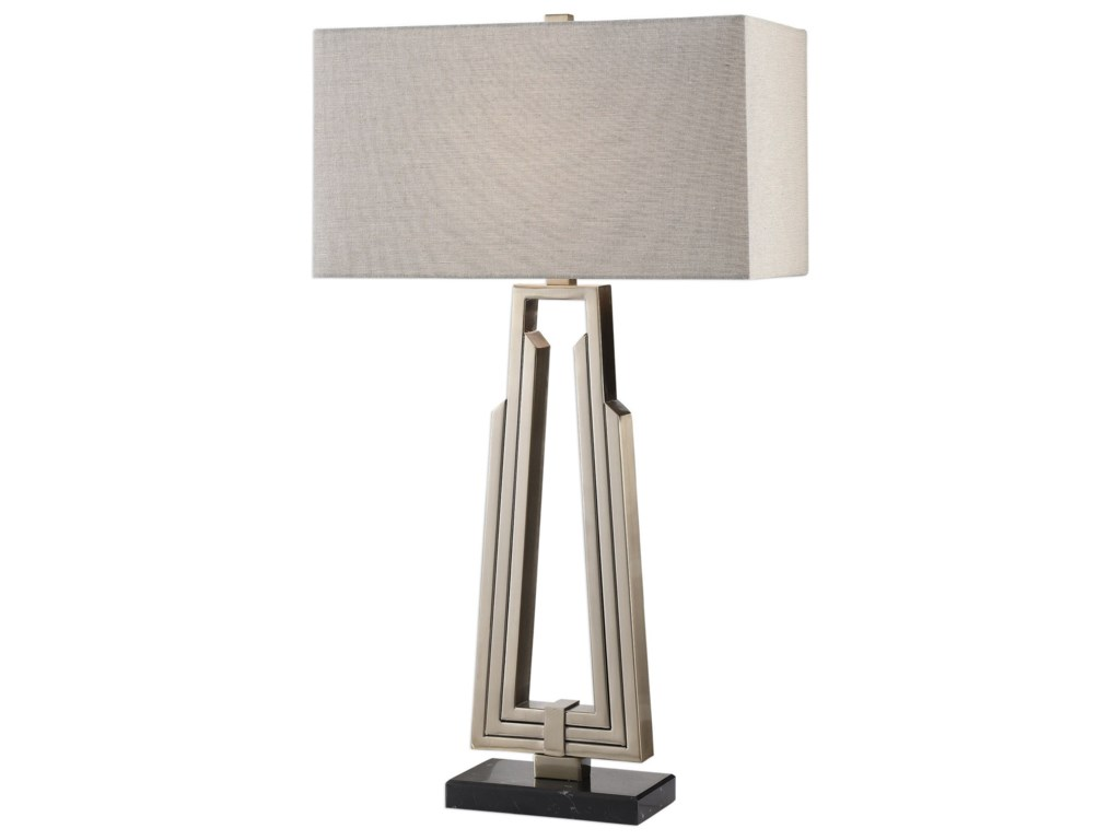 Uttermost Table LampsAlvar Contemporary Modern Lamp