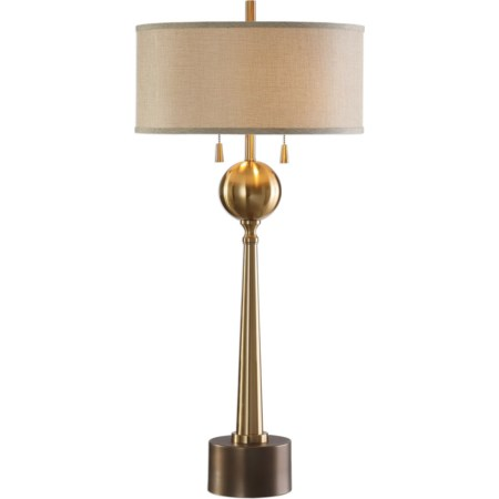 Kensett Antique Bronze Lamp