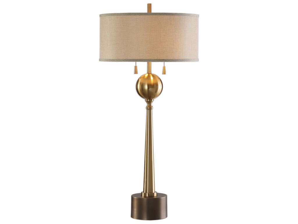Uttermost Table LampsKensett Antique Bronze Lamp