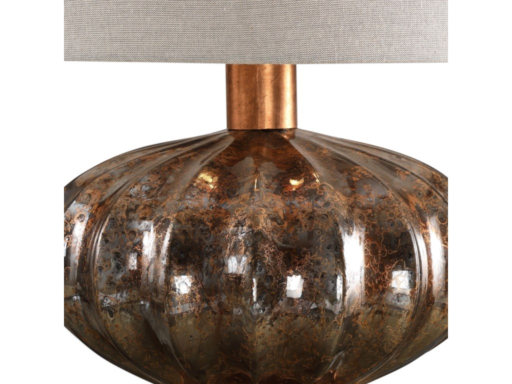 Uttermost Table LampsDragley Bronze Mercury Glass Lamp