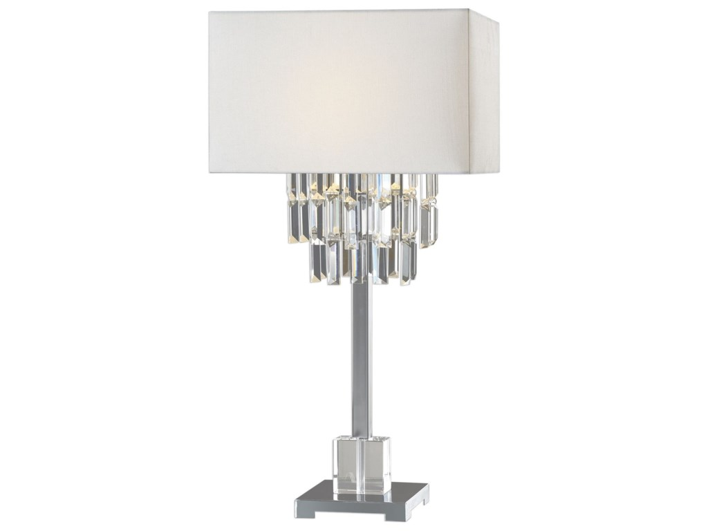 Uttermost Table LampsResana Polished Nickel Lamp
