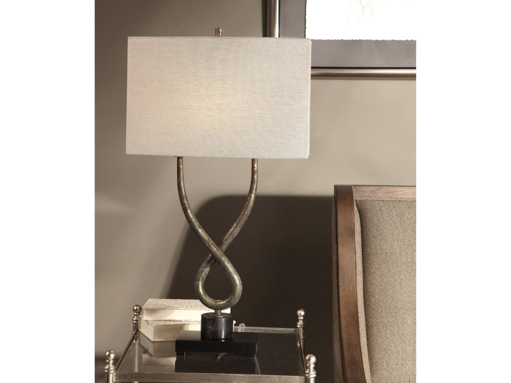 Uttermost Table LampsTalema Aged Silver Lamp