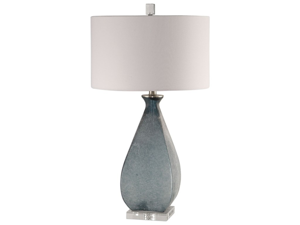 Uttermost Table LampsAtlantica Ocean Blue Lamp