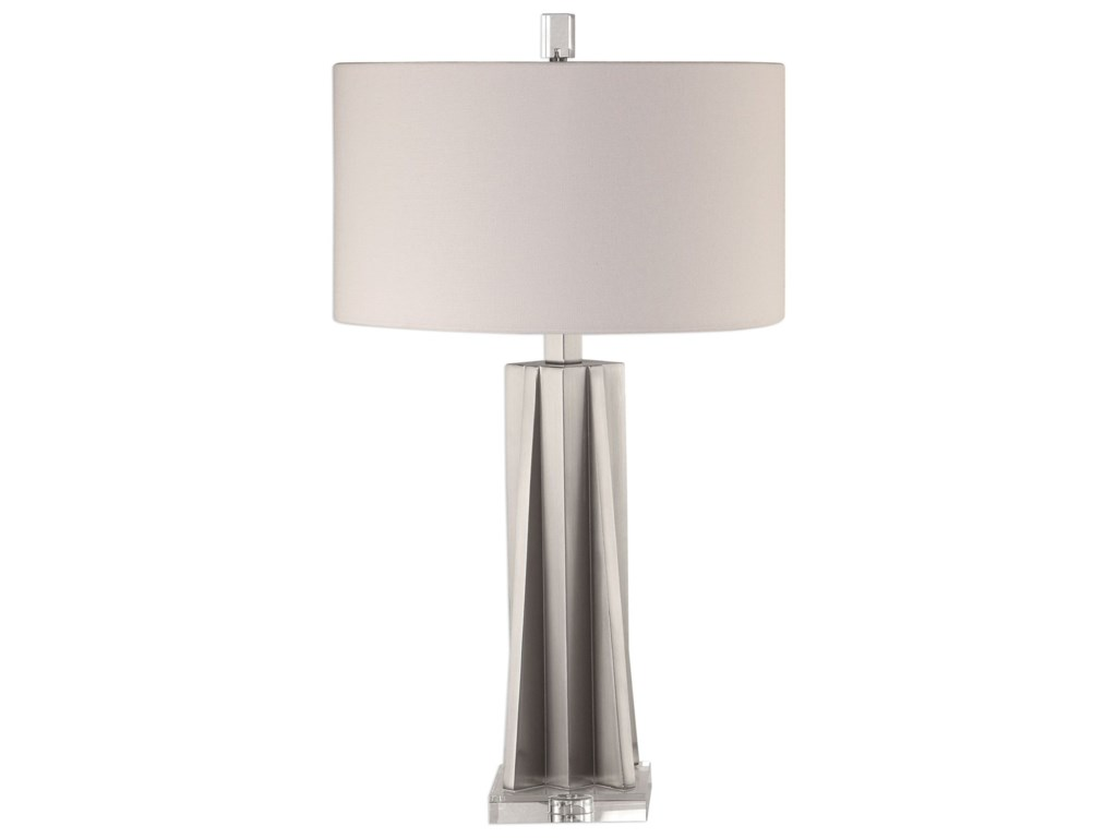 Uttermost Table LampsTrinculo Brushed Nickel Lamp