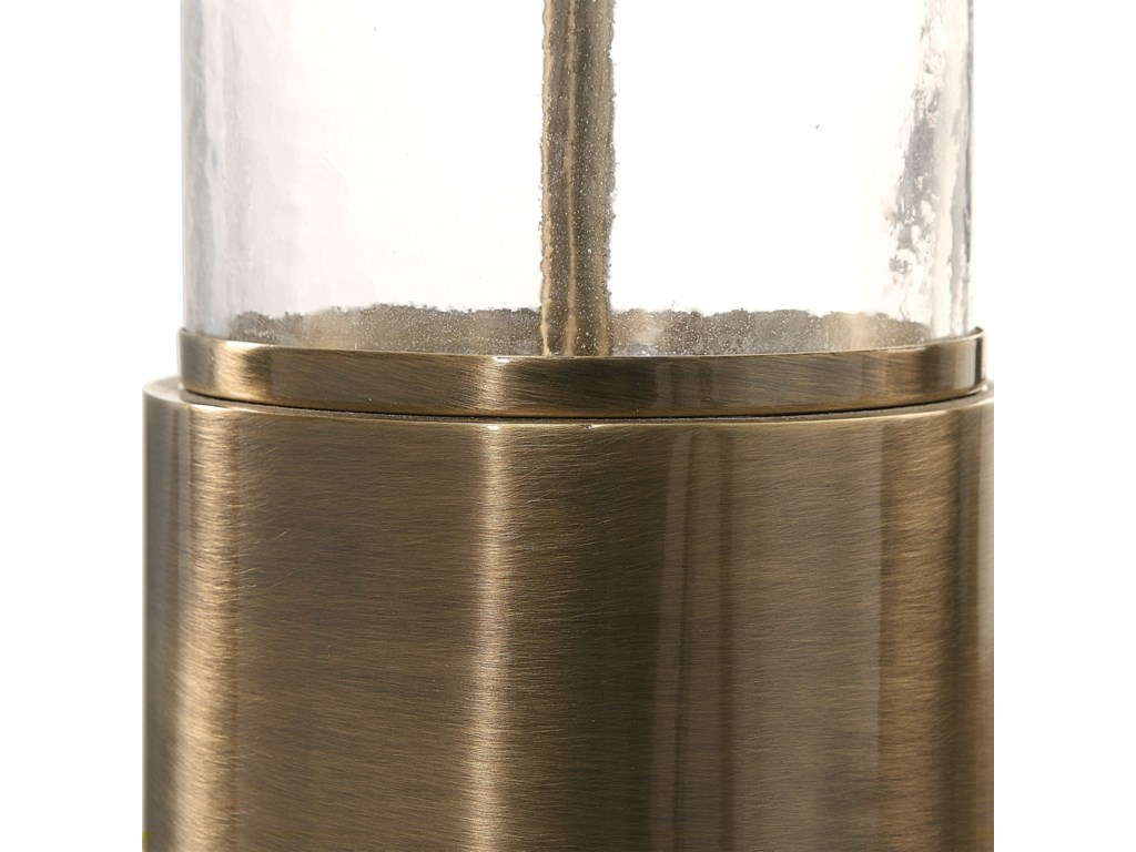 Uttermost Table LampsVaiga Glass Column Lamp