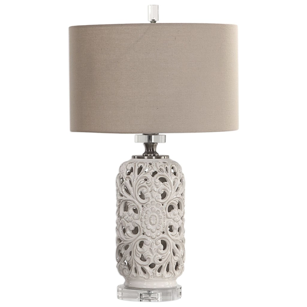 Uttermost Table Lamps 27838 Dahlina Ceramic Table Lamp Hudson S