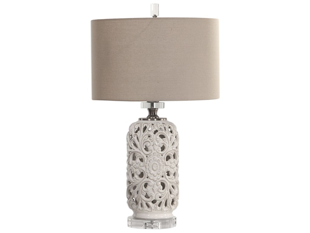 Table Lamps Dahlina Ceramic Lamp