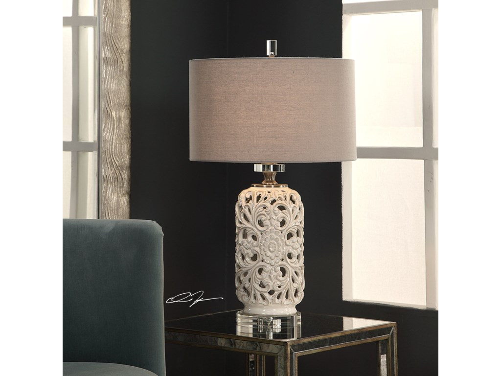 Uttermost Table LampsDahlina Ceramic Table Lamp