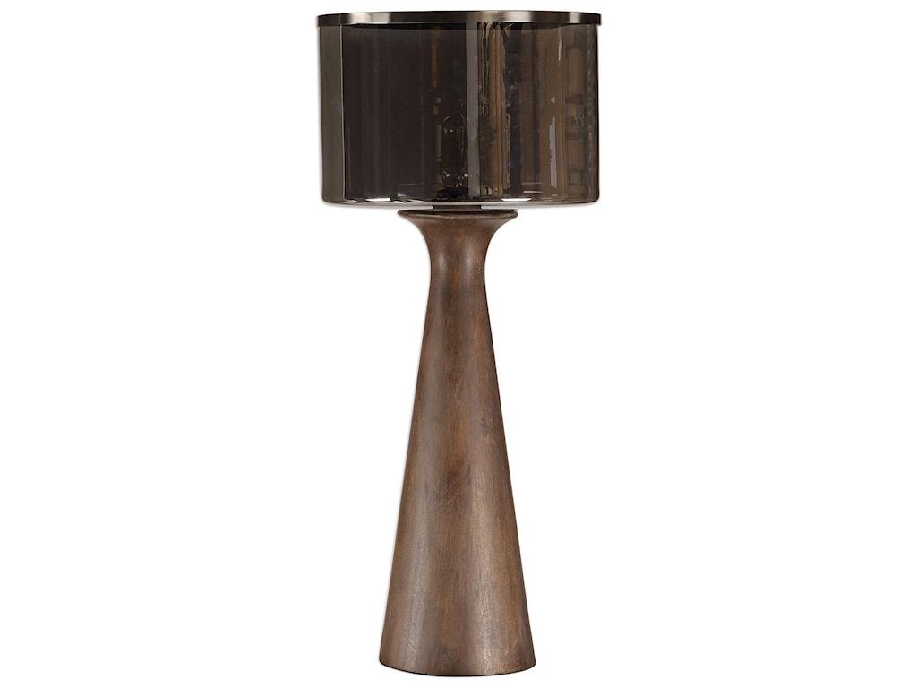 Uttermost Table LampsFernando Walnut Table Lamp