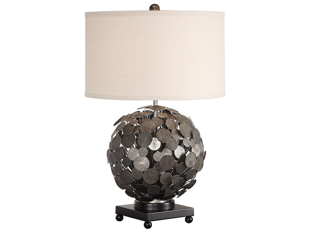 Uttermost Table LampsCallisto Steel Disk Table Lamp